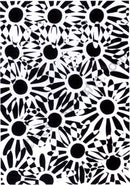 Creative Expressions Background Stamps Daisy Illusion
