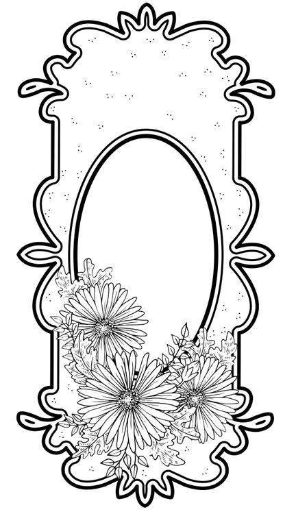 Creative Expressions Scarlet's Daisies Pre Cut Stamp