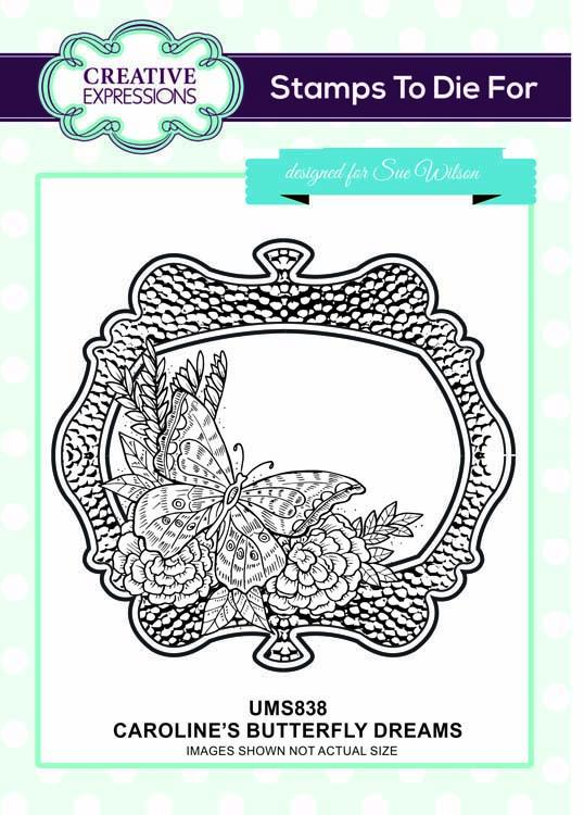 Stamps To Die For Caroline's Elegant Damask