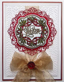 Eve's Holly Ribbon Frame