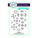 Creative Expressions Layered Carnation Pre-Cut Stamp Set