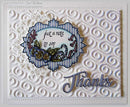 Creative Expressions Stamps To Die For Camilla's Pansies Pre Cut Stamp