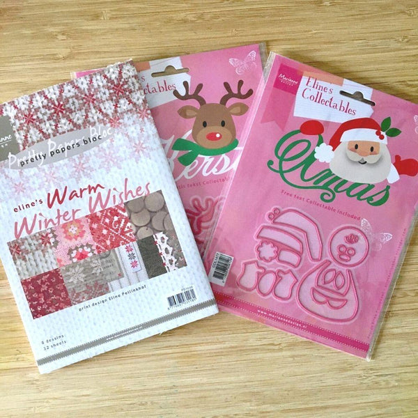 Marianne Design Die & Stamp Bundle