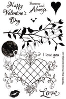 Bonnidee Stamps - Valentine Eng