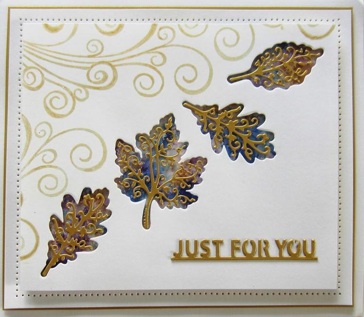 Finishing Touches Collection Autumn Leaf Trio Die