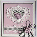 Fillables Collection Jewelled Heart Die