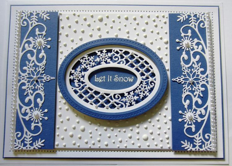 Sue Wilson Dies - Festive Collection - Lattice Snowflake