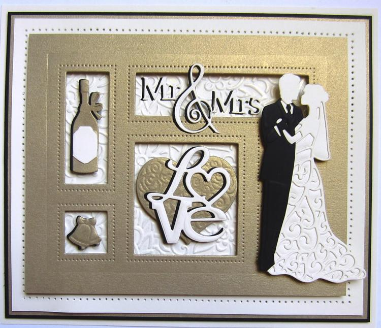 Shadow Boxes Collection Mr and Mrs