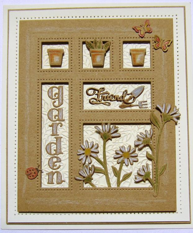 Shadow Boxes Collection In The Garden Die