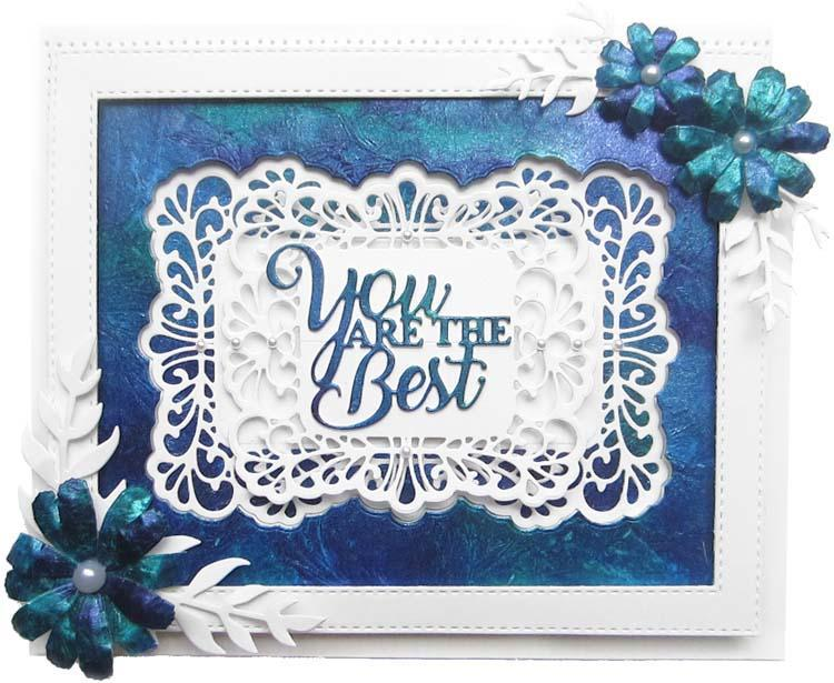 Dies by Sue Wilson Mini Expressions Collection You Are the Best