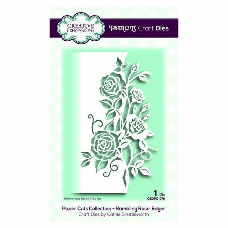 Creative Expressions Floral Edgers Bundle