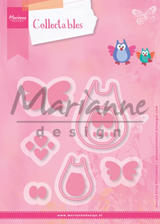Marianne Design: Collectables Die Set - Family Owl