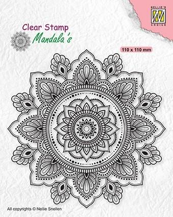 Clear Stamp Mandalas Sunflower