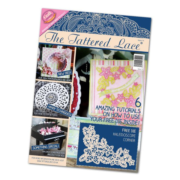 Tattered Lace Magazine #14 (includes Free Die)