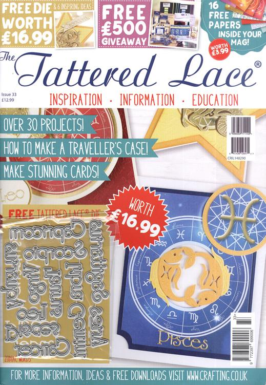 Tattered Lace Magazine #33 (Includes FREE Die Set)