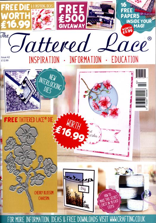 The Tattered Lace Magazine Issue #42 with FREE Die