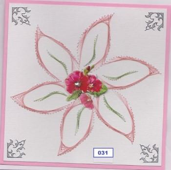 Laura's Design Digital Embroidery Pattern - Large Flower