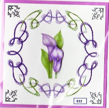 Laura's Design Digital Embroidery Pattern - Swirling Wreath