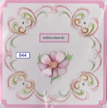 Laura's Design Digital Embroidery Pattern - Flourish Frame