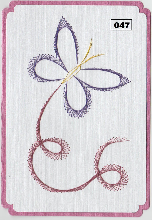 Laura's Design Digital Embroidery Pattern - Floating Butterfly