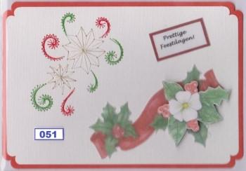 Laura's Design Digital Embroidery Pattern - Christmas Flowers