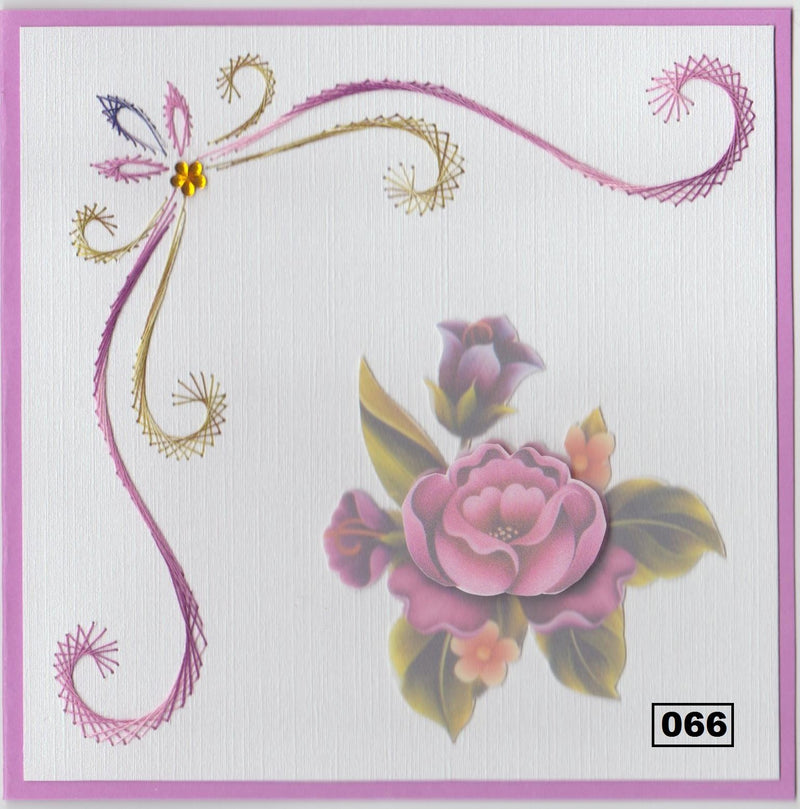 Laura's Design Digital Embroidery Pattern - Large Corner