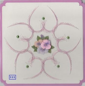 Laura's Design Digital Embroidery Pattern - Large Smooth Flower