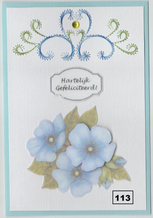 Laura's Design Digital Embroidery Pattern - Flourish Border 2