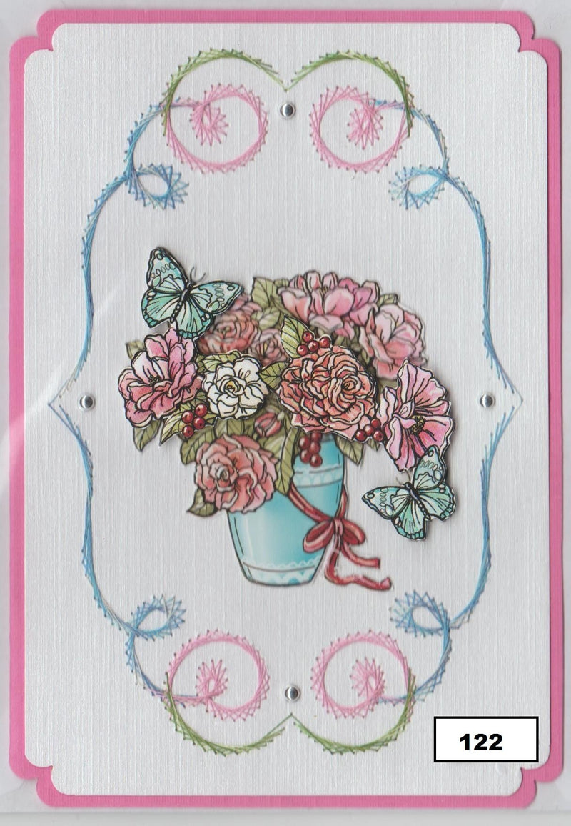 Laura's Design Digital Embroidery Pattern - Fancy Frame