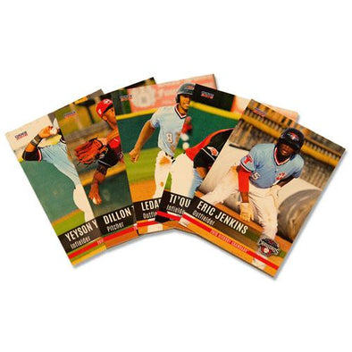 Hickory Crawdads 2016 Team Set #2