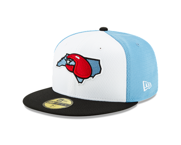 Hickory Crawdads Diamond Era BP Fitted Hat