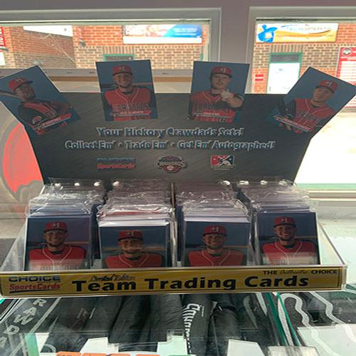 Hickory Crawdads 2019 Team Card Set #1