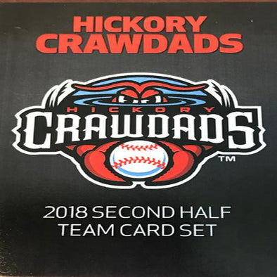Hickory Crawdads 2018 Team Card Set #2