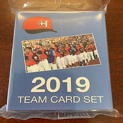 Hickory Crawdads 2019 Team Card Set #2