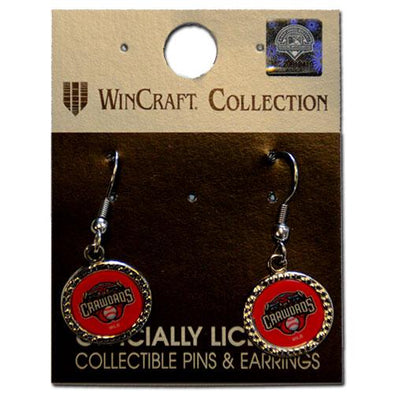 Hickory Crawdads Earrings