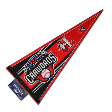 Hickory Crawdads Pennant