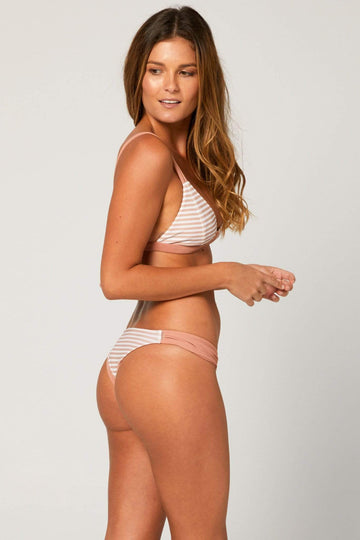 Aloe Swimwear Bottoms BRONTE BOTTOMS IN CREAM BATH