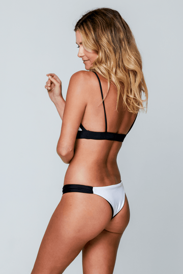 Aloe Swimwear Bottoms BRONTE BOTTOMS IN LUXE MONO