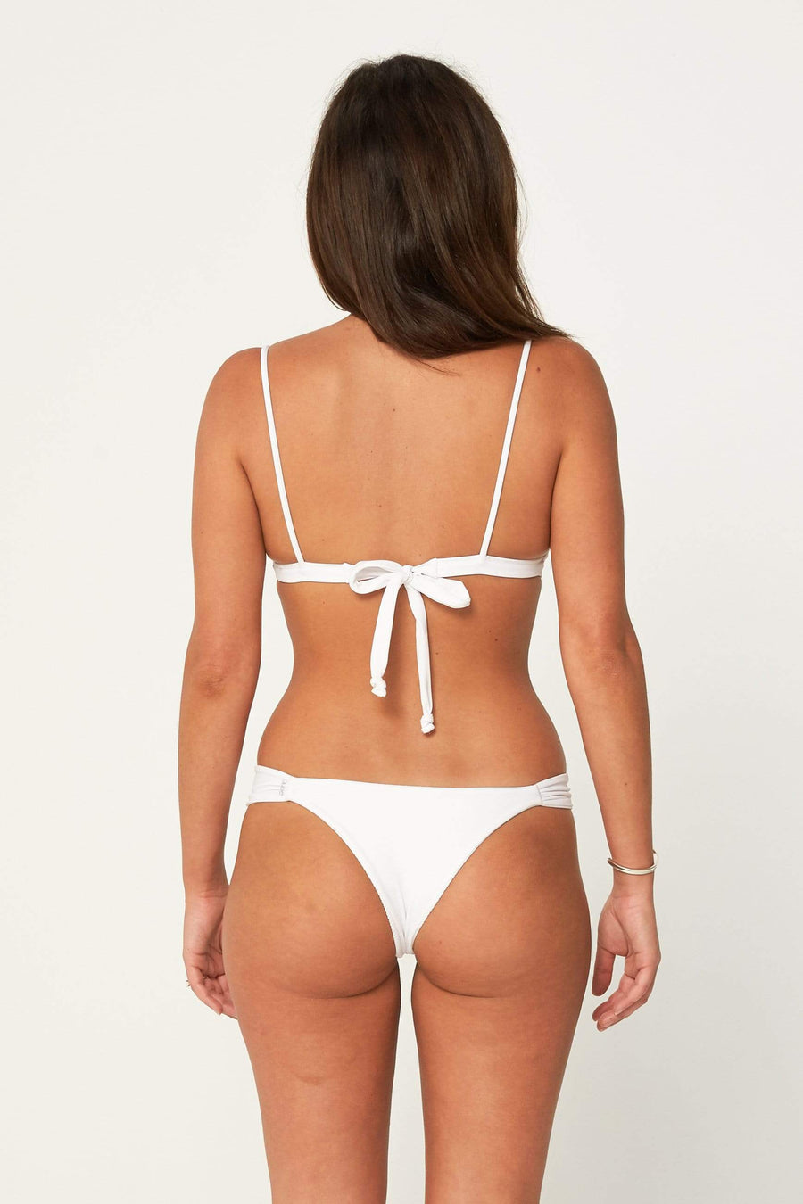 Aloe Swimwear Bottoms BRONTE BOTTOMS IN OYSTER