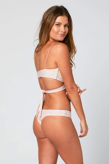 Aloe Swimwear Bottoms CHLOE BOTTOMS IN CREAM BATH