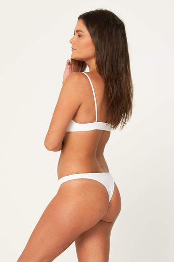 Aloe Swimwear Bottoms CHLOE BOTTOMS IN OYSTER