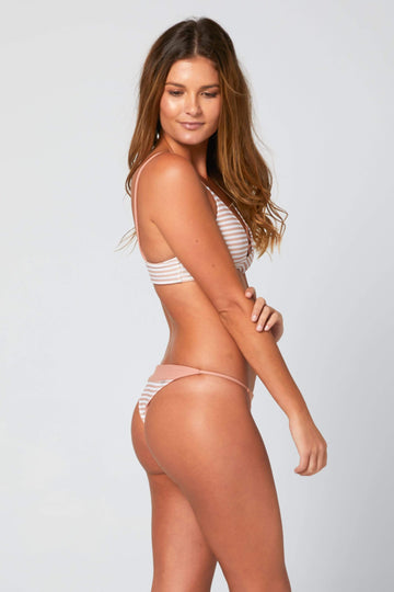 Aloe Swimwear Bottoms HULA BOTTOMS IN CREAM BATH