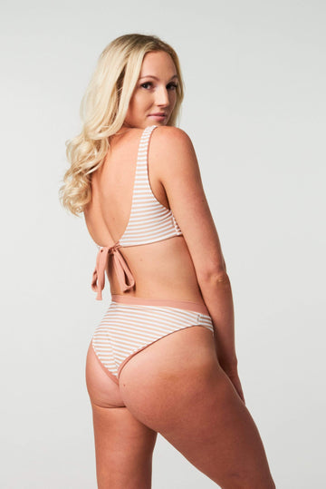 Aloé Swimwear Bottoms KATIE BOTTOMS IN CREAM BATH