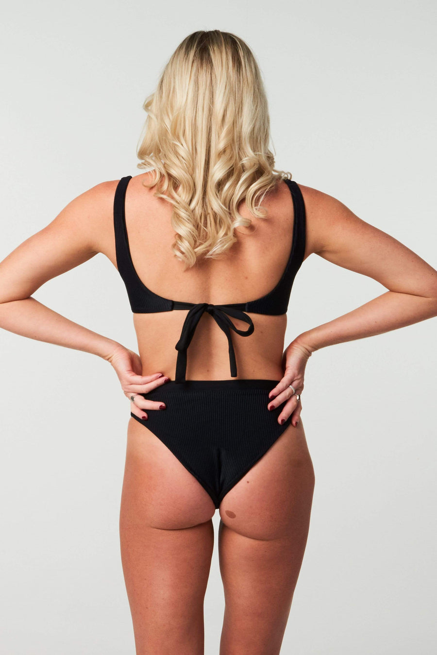 Aloé Swimwear Bottoms KATIE BOTTOMS IN INK