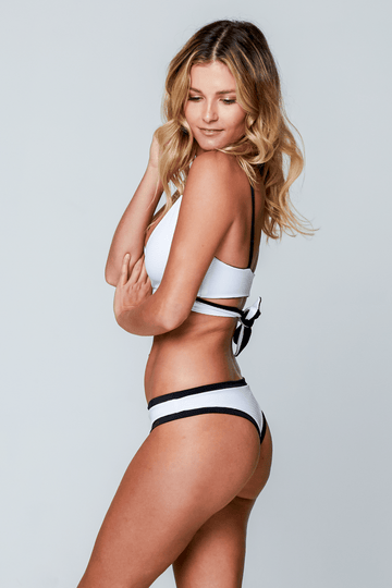 Aloe Swimwear Bottoms MYKONOS BOTTOMS IN LUXE MONO