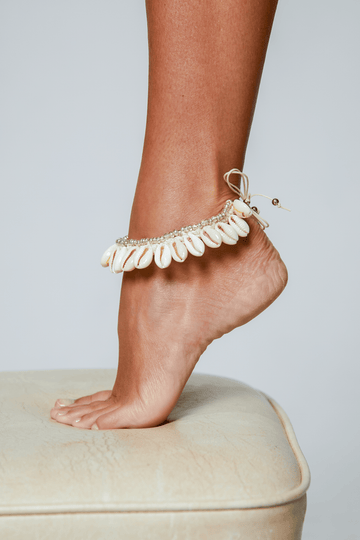 Aloé Swimwear Jewellery ONE SIZE SHELL ANKLET