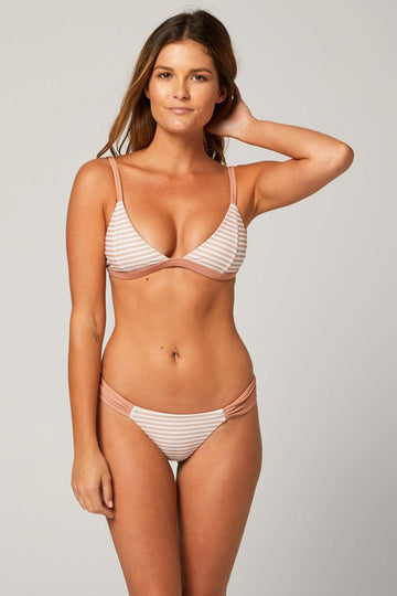Aloe Swimwear Tops BILGOLA TOP TOP IN CREAM BATH