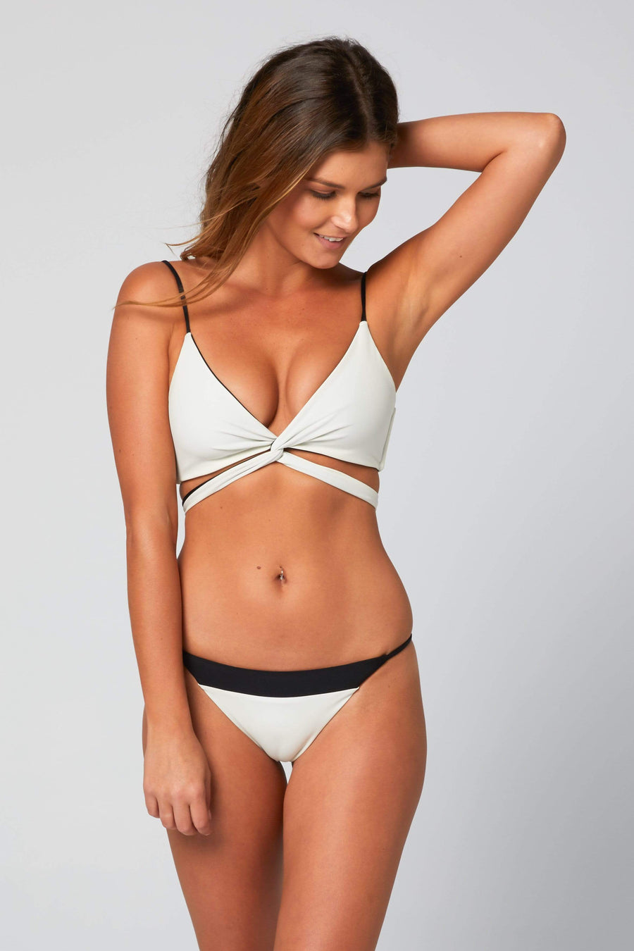 Aloe Swimwear Tops CARPE TOP IN BOND