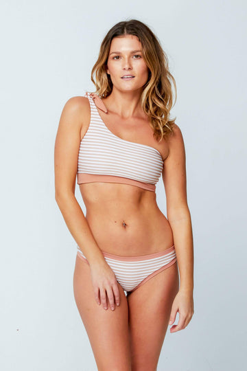 Aloe Swimwear Tops RIO TOP IN CREAM BATH