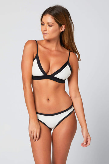 Aloe Swimwear Tops SPLIT TOP IN BOND